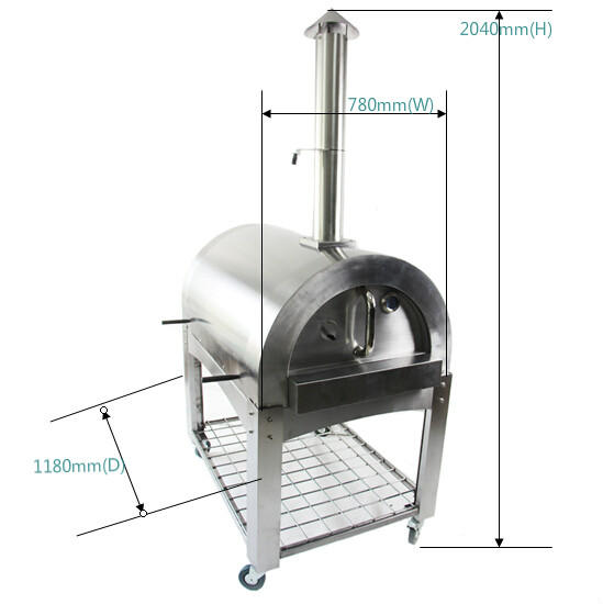 SM-006B Sumor High Quality Outdoor Wood Fired Freestanding Pizza Oven