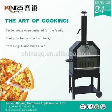Charcoal Metal Wood Fired Pizza Oven With BBQ SM-002A