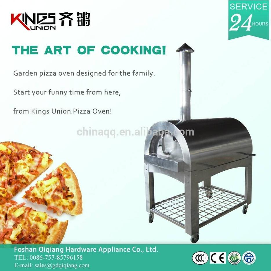 Stainless Steel Wood Fired Pizza Oven for Sale SM-006B