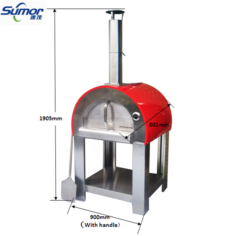 (SM-006E) Hot-selling Wood Fired Outdoor Pizza Oven With Different Colors
